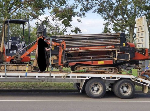 Dual Axle Tag Trailer w/ramps - 18t payload 2