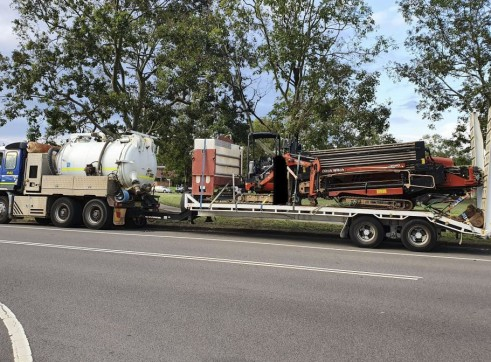 Dual Axle Tag Trailer w/ramps - 18t payload 1