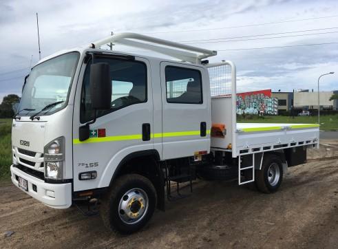 Dual Cab 4x4 Truck 7500kg 2