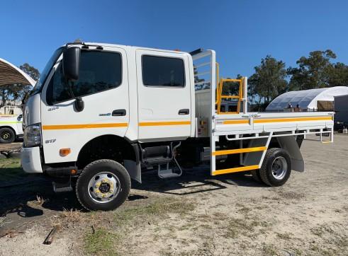 Dual Cab 4x4 Truck 7500kg 3
