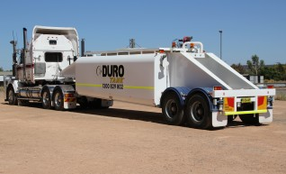 DURO WATER SHUTTLE, 22000L with RAPID SELF FILL IN 8 MINUTES 1