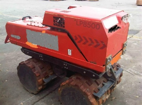 DYNAPAC LP8500 REMOTE TRENCH ROLLER