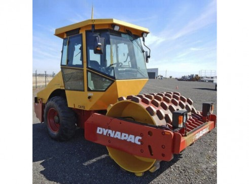 Dynapac Single Padfoot Vibrating Drum Roller - 7.9t 3