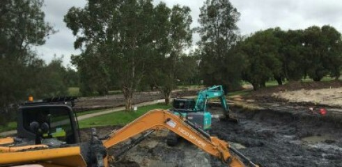 East Maitland and Leisure Golf Club Construction 2