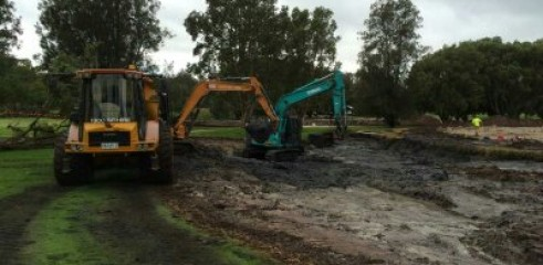 East Maitland and Leisure Golf Club Construction 4