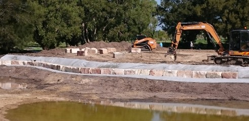 East Maitland and Leisure Golf Club Construction 8