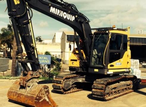 ECR145CL Volvo 14 ton Zero swing excavator