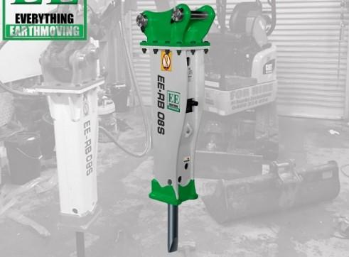 EE-RB08S Rock Breaker suits 0.7 - 1.4 T Excavators 1
