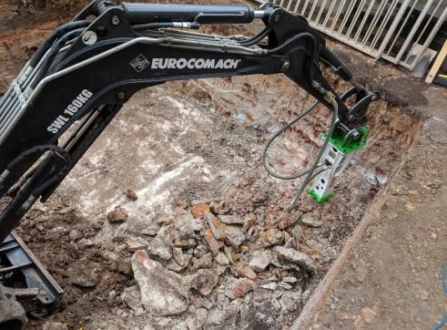 EE-RB10S Rock Breaker suits 1.5 - 2.5 T Excavators 11