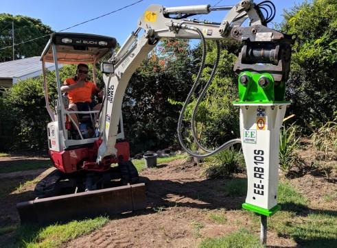 EE-RB10S Rock Breaker suits 1.5 - 2.5 T Excavators 15