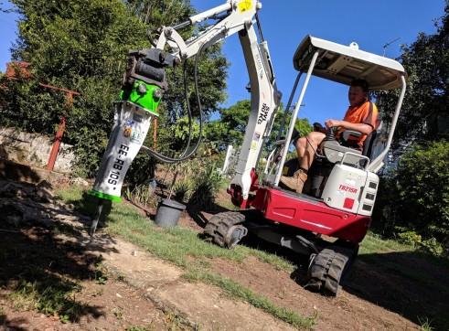 EE-RB10S Rock Breaker suits 1.5 - 2.5 T Excavators 5