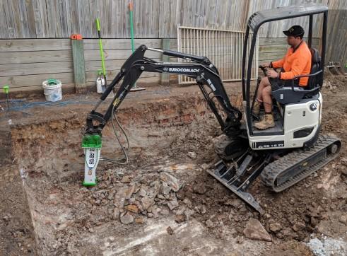 EE-RB10S Rock Breaker suits 1.5 - 2.5 T Excavators 7
