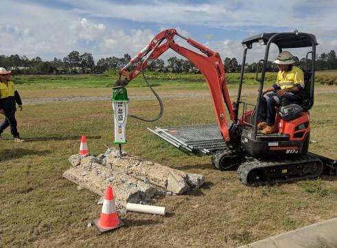 EE-RB10S Rock Breaker suits 1.5 - 2.5 T Excavators 8