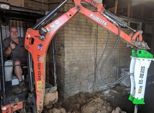 EE-RB20S Rock Breaker suits 1.7 - 3 T Excavators 15