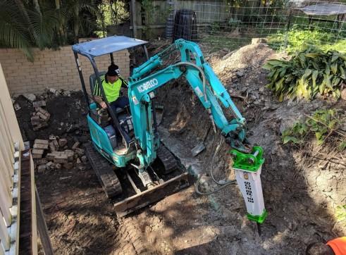 EE-RB20S Rock Breaker suits 1.7 - 3 T Excavators 7