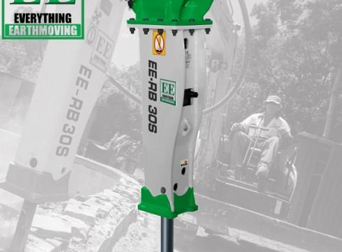 EE-RB30S Rock Breaker suits 2.5 - 4.5 T Excavators 1