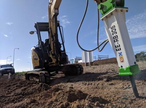 EE-RB30S Rock Breaker suits 2.5 - 4.5 T Excavators 8