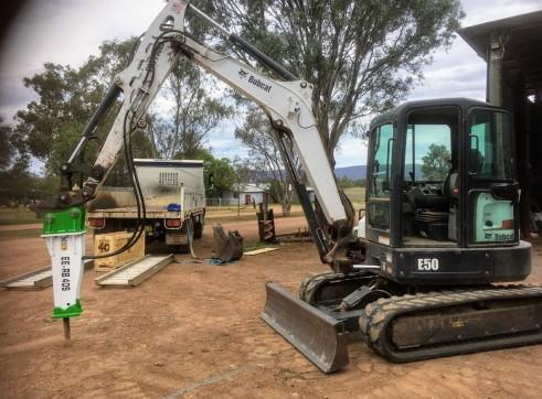 EE-RB40S Rock Breaker suits 3 - 5.5 T Excavators 10