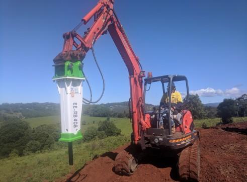 EE-RB40S Rock Breaker suits 3 - 5.5 T Excavators 11