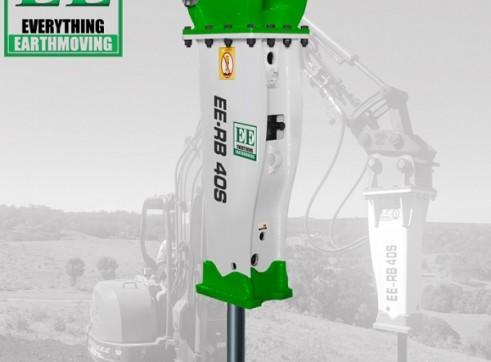 EE-RB40S Rock Breaker suits 3 - 5.5 T Excavators 1