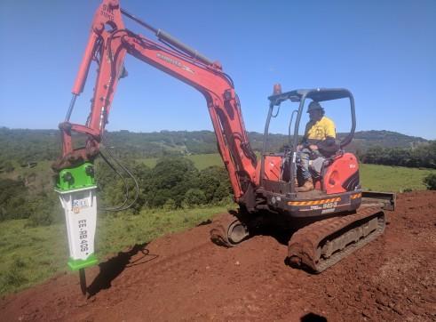 EE-RB40S Rock Breaker suits 3 - 5.5 T Excavators 5