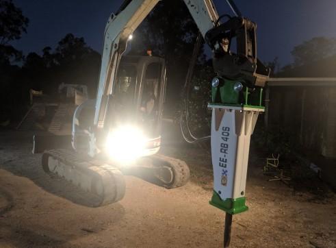 EE-RB40S Rock Breaker suits 3 - 5.5 T Excavators 7