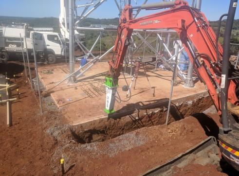 EE-RB40S Rock Breaker suits 3 - 5.5 T Excavators 8