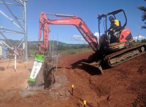 EE-RB40S Rock Breaker suits 3 - 5.5 T Excavators 9