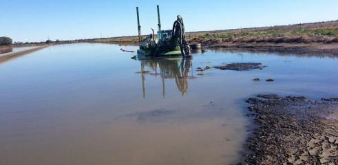 Environmental Dredging - Wetlands, Lagoons 1
