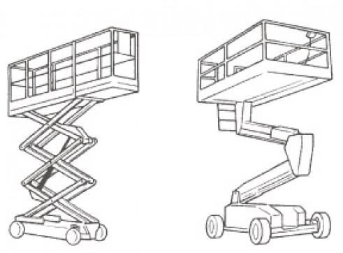 EWP Work (Elevating Work Platform)