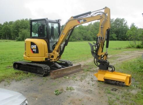 EX28RPM Torrent Mulcher - suit mini excavator 1