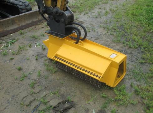 EX28RPM Torrent Mulcher - suit mini excavator 2