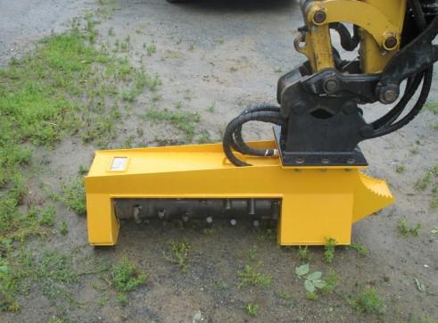 EX28RPM Torrent Mulcher - suit mini excavator 3