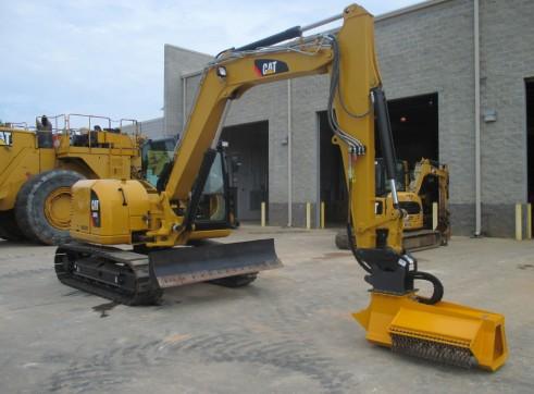 EX30RPM Torrent Mulcher - suit mini excavators & backhoes 2
