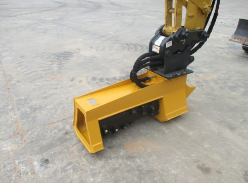 EX30RPM Torrent Mulcher - suit mini excavators & backhoes 3