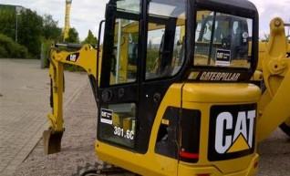 Excavator Caterpillar 301.6 1