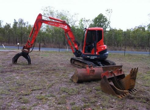 Excavator/Skid Steer, tipper Combo 3