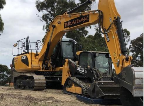 20 Ton Tracked Excavator JCB JS200 1