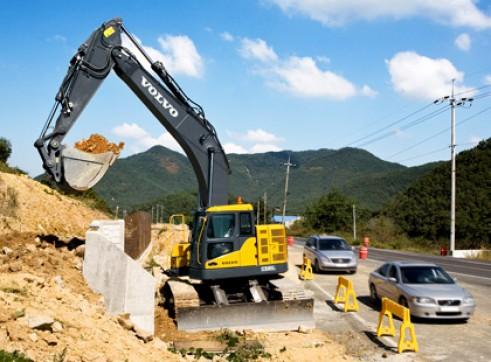 Excavator Volvo Ex305