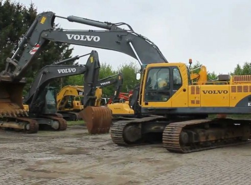 Excavator Volvo Ex460