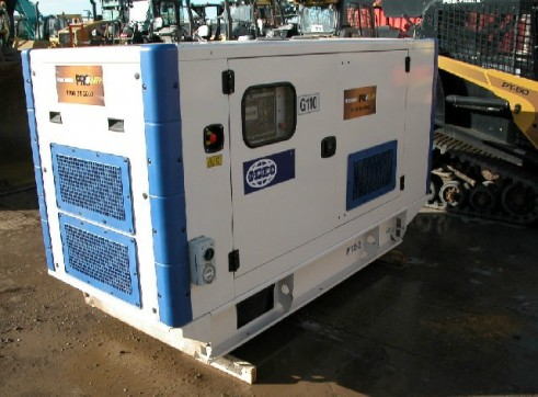 F G Wilson P110 Generator 110kva 1