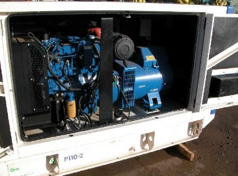 F G Wilson P110 Generator 110kva 3