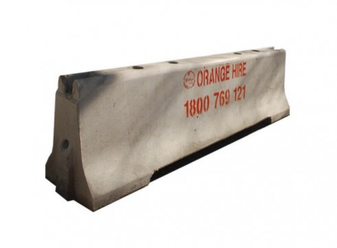 F-Type Concrete Jersey Barrier 1
