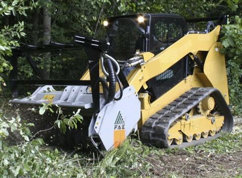 FAE Forestry Mulchers for skidsteers 2