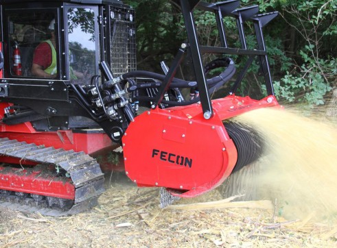 Fecon Forestry Attachments: Mulchers, Stump Grinders, Tree Shears 2