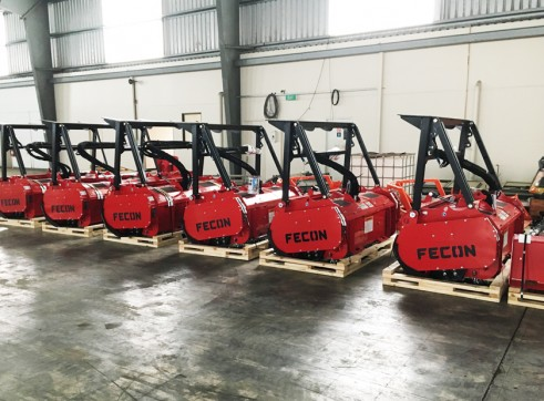 Fecon Forestry Attachments: Mulchers, Stump Grinders, Tree Shears 3