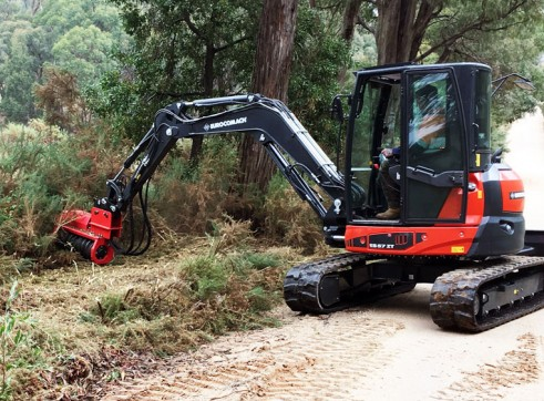 Fecon Forestry Attachments: Mulchers, Stump Grinders, Tree Shears 5