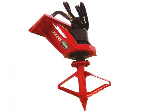 Fecon Forestry Attachments: Mulchers, Stump Grinders, Tree Shears 6
