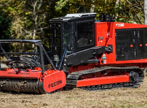 FECON FTX150 COMPACT MULCHING TRACTOR WITH MULCHER