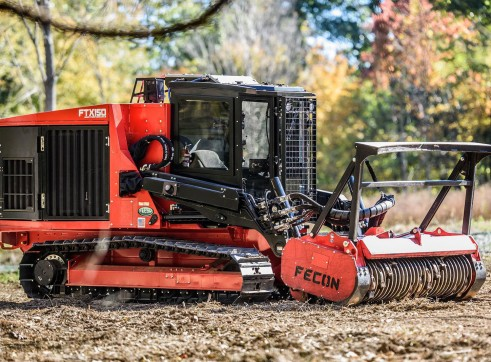 FECON FTX150 COMPACT MULCHING TRACTOR WITH MULCHER 2